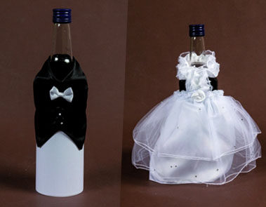 ozdoby na butelki