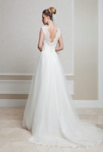 Suknia ślubna Estera Amanda 22 tyl