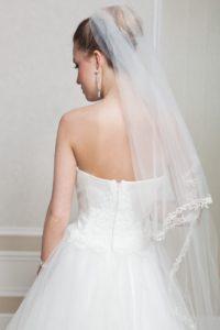 Suknia ślubna Estera Amanda Avrone tyl