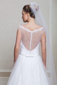 Suknia ślubna Estera Amanda Casette tyl