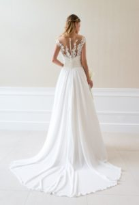 Suknia ślubna Estera Amanda Coral tyl