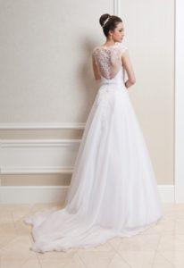 Suknia ślubna Estera Amanda milagros tyl