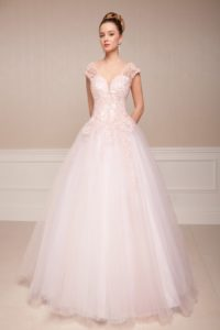 Suknia ślubna Estera Blanca przod