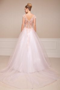 Suknia ślubna Estera Blanca tyl