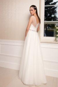 Suknia ślubna Estera Elone tyl