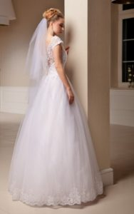 Suknia ślubna Estera Ivetta tyl