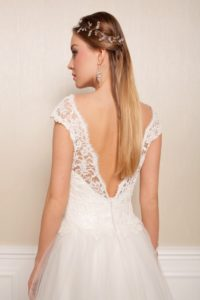 Suknia ślubna Estera Marlen tyl