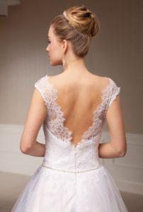 Suknia ślubna Estera Violane tyl