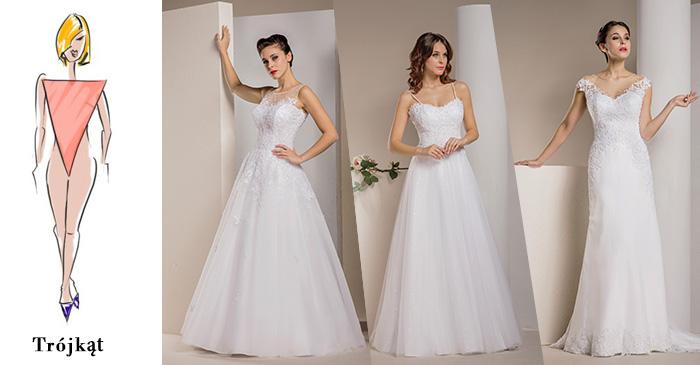 jak dobrać suknie ślubną do figury