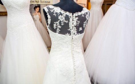 suknia ślubna literia A