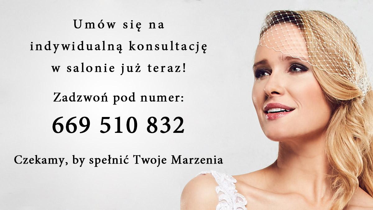 Salon Suknie i Dodatki Ślubne - numer teleofnu