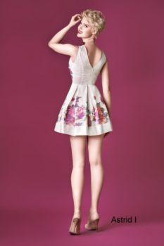 Sukienka wieczorowa Dagnez Astrid I tył