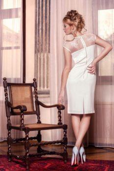 Suknia wieczorowa Dagnez Minerwa III tył
