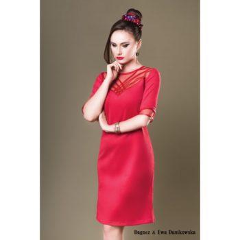 Suknia wieczorowa Dagnez Zofia czerwona