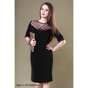 Suknia wieczorowa Dagnez zofia czarna