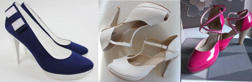 kolorowe buty ślubne witt